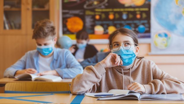 Schools can provide sound guidance on Covid-19 and prevent the spread of misinformation to both children and parents. Photograph: iStock
