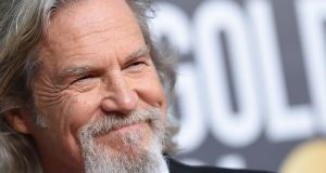 US actor Jeff Bridges at the Golden Globe Awards in 2019. File photograph: Valerie Macon/AFP via Getty Images
