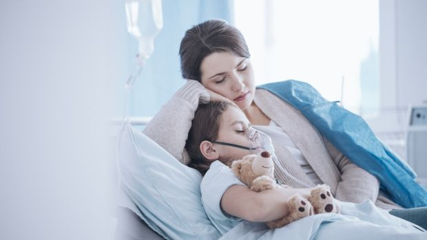 Financial supports are suspended if a child spends more than 13 weeks in hospital, despite the parent needing to be at the bedside