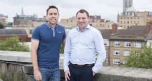 LearnUpon co-founder Des Anderson and Brendan Noud