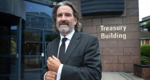 Developer Johnny Ronan: has secured US private equity group Oaktree as a joint venture partner for the development of the former Irish Glass Bottle (IGB) site in Dublin. Photograph: Tony Gavin