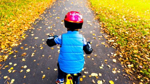 Dust off the bikes and head to your nearest green space. Photograph: iStock