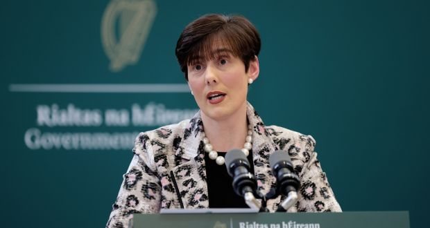 Minister for Education Norma Foley has said school communities 'can be absolutely assured' that any necessary resources and measures will be put in place to ensure a safe return to school after mid-term. Photograph: Maxwells