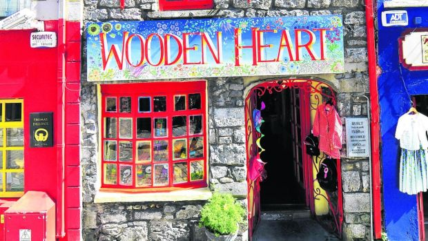 The Wooden Heart, based in Galway, has plenty of wooden and traditional toys.