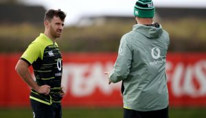 Hugo Keenan could be in line for his Test debut against Italy on Saturday.  Photograph: Dan Sheridan/Inpho