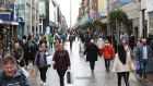 Shoppers on Mary Street in Dublin city centre on Tuesday. Photograph: Sasko Lazarov / RollingNews.ie