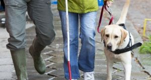 The National Council for the Blind in Ireland said their 'services throughout 2020 have been in high demand and we've responded accordingly'. File photograph: Getty
