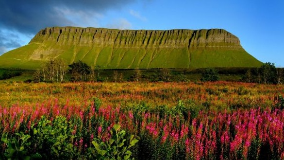 Benbulben, in Co Sligo