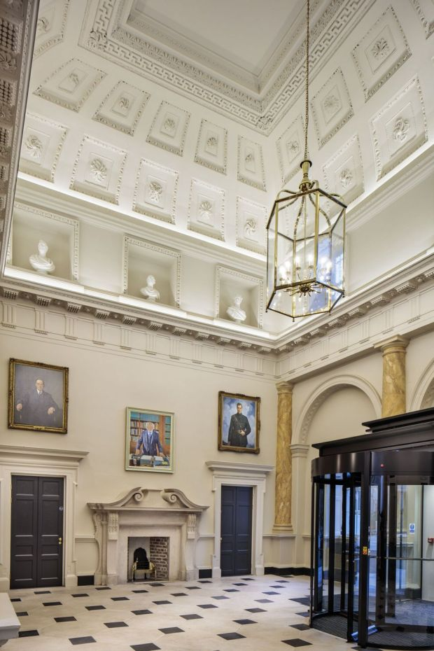 The restoration of Leinster House by the OPW architectural services received the top award in the conservation category. Photograph: Peter Moloney/PM Photography