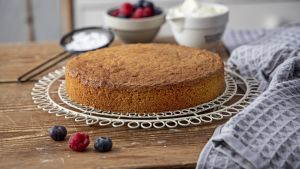 Light and airy sponge cake