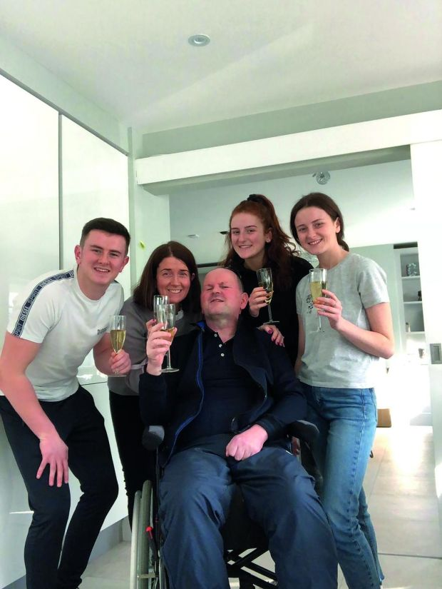 March 2020 – the day Seán moved back home
