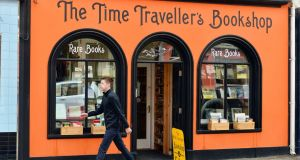 The Time Traveller's Bookshop in Skibbereen, Co Cork. Local businesses will  be offering personalised virtual shopping via WhatsApp and Zoom for customers.