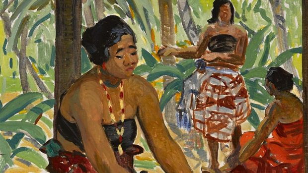 Preparing the Meal, Samoa by Mary Swanzy achieved €36,000 at Whyte's sale.