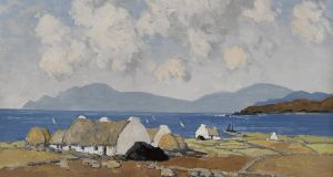 A Sunny Day, Connemara by Paul Henry achieved €420,000 through Whyte's this week, setting a world record for the artist.