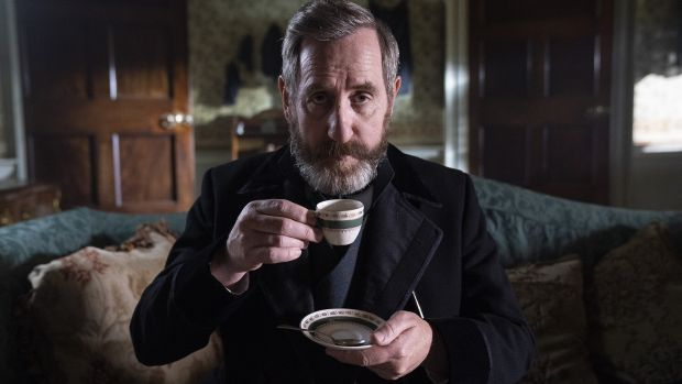 Michael Smiley as Brock Blennerhasset in Dead Still. Photograph: RTÉ