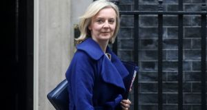 Liz Truss, the UK's international trade secretary, signed the agreement with Japan's minister for foreign affairs Toshimitsu Motegi. File photograph: Chris Ratcliffe/Bloomberg
