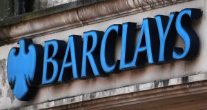 Shares in Barclays  jumping 7 per cent as its consumer businesses swung back to profit and provisions against bad loans fell in the third quarter. Photograph: EPA