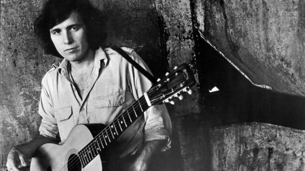 "Don McLean around the time of American Pie's release. ""I cried for two years after my father died. I blamed myself."" Photograph: Michael Ochs Archives/Getty Images"