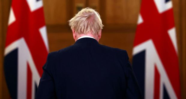 The Northern Ireland Affairs Committee  has described the proposals as 'unilateral and unhelpful'. Above, Boris Johnson. Photograph: Henry Nicholls/PA Wire