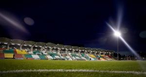 Shamrock Rovers are due to play Derry City in Tallaght on Wednesday night. Photograph: Oisin Keniry/Inpho