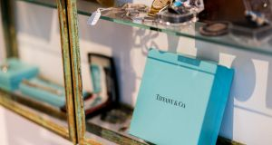 LVMH and Tiffany are in active talks to renegotiate their $16.6 billion combination in an effort to avoid a court battle. Photograph: Jeenah Moon/Bloomberg