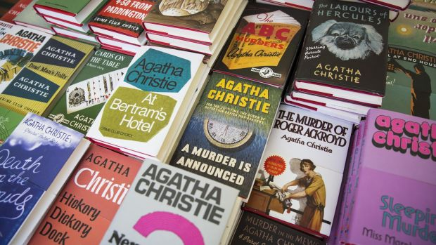Agatha Christie's writing career spanned six decades and included 66 crime novels, 14 story collections and numerous plays. Photograph: Jack Taylor/AFP via Getty Images