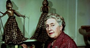 Agatha Christie at her home in 1949.  Photograph: Popperfoto/Getty Images