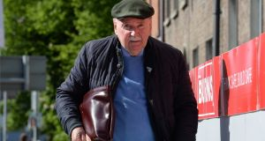 Michael Fingleton is associated with lands at the centre of a planning application for 194 build-to-rent units. Photograph: Dara Mac Dónaill/The Irish Times