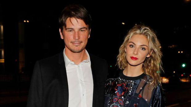 Josh Hartnett and Tamsin Egerton. Photograph: David M Benett/Getty