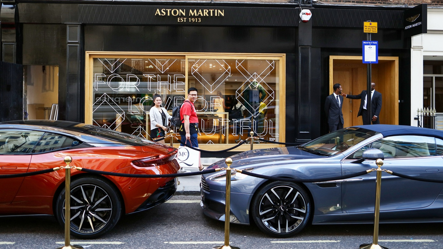 Mercedes Benz To Up Stake In Struggling Aston Martin