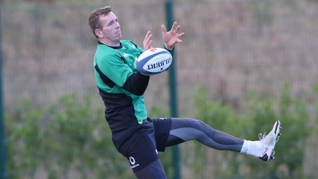 Chris Farrell has been named among the replacements for Ireland's clash with France. Photograph: Billy Stickland/Inpho