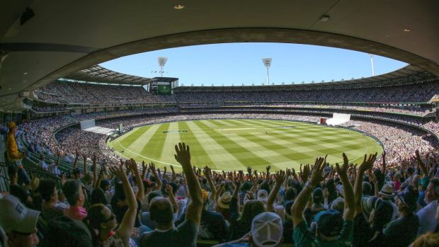 A crowd of 25,000 could be allowed to attend the MCG for the traditional Boxing Day Test. Photograph: Scott Barbour/Getty