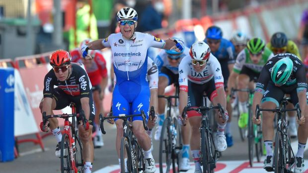 Sam Bennett stripped of a second stage win at this year's Vuelta a España