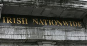 The defunct Irish Nationwide Building Society, as it previously appeared on Dublin's Grafton Street.