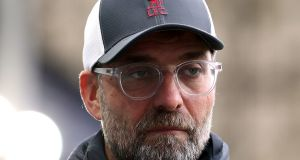 Liverpool manager Jurgen Klopp was among the managers who criticised Premier League chief executive Richard Masters. Photograph:  Catherine Ivill/PA Wire