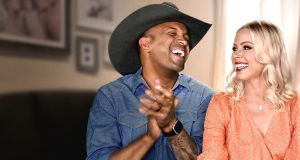 Coffey and Criscilla Anderson in the new reality series Country Ever After, streaming from Friday on Netflix