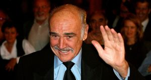 Scottish actor Sean Connery, who has died aged 90,  is seen  arriving at Rome's Opera Theatre in  2006. Photograph: EPA