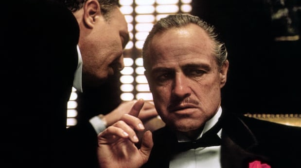 Marlon Brando as Don Vito Corleone in a scene from the movie The Godfather. File photograph: AP/Paramount pictures