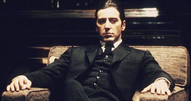 Actor Al Pacino in The Godfather: Part II.