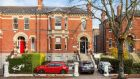 The property is a two-storey over garden level end-of-terrace Victorian building of 468sq m (5,040sq ft), with parking for up to six cars