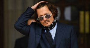 "Johnny Depp: Even if he had ""won"" the reputational cost was going to be colossal. As he lost, it may prove incalculable. Photograpah: EPA/Neil Hall"