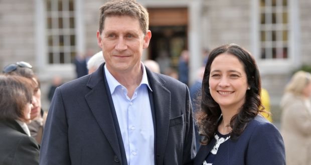 The Greens, like any political party, are naturally prone to internal rivalries and competition; just a few months ago, deputy leader Catherine Martin mounted an unsuccessful attempt to oust party leader Eamon Ryan. Photograph: Alan Betson
