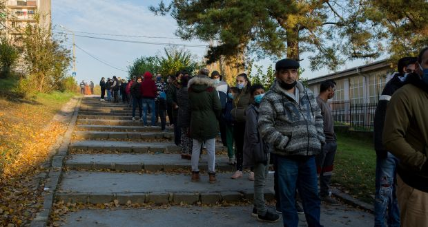 Slovakia tests two-thirds of its population in bid to avert Covid lockdown