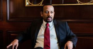 Abiy Ahmed became prime minister of Ethiopia in 2018, a country of 110m people divided into 10 ethnically based autonomous regions. File Photograph: Alex Welsh/The New York Times