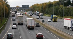 "M50 on the first day of Level-5 lockdown: ""For the year to date, 126 people have been killed on Irish roads – an increase of 10 on last year, despite significant restrictions on travel between March and July.""   Photograph: Crispin Rodwell"