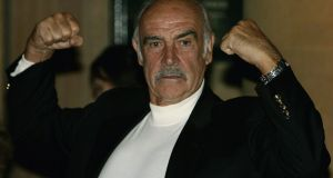 "The late James Bond actor Sean Connery has been the subject of debate for comments he made in 1965 about ""acceptable"" ways to beat a woman. Photograph: Jeff J Mitchell/Getty Images"