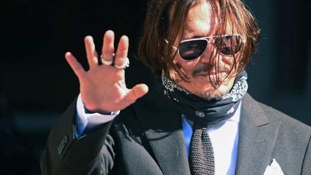 "US actor Johnny Depp unsuccessfully sued the Sun for identifying him as a ""wife beater"". Photograph: Facundo Arrizabalaga/EPA"