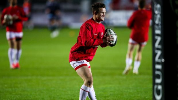Ulster's Billy Burns is included in Ireland's latest squad. Photograph: Inpho