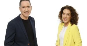 Settling in: Drivetime's Cormac Ó hEadhra and Sarah McInerney