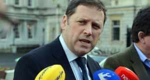 Barry Cowen intimated that he did not feel he got due process from Micheál Martin when it came to his own recent controversy.